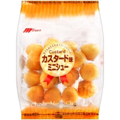 Marukin丸金 卡士達風味小泡芙(63g)