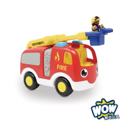 【WOW Toys 驚奇玩具】雲梯消防車恩尼