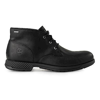Timberland 男款黑色全粒面皮革休閒鞋|A1SMX @ Y!購物