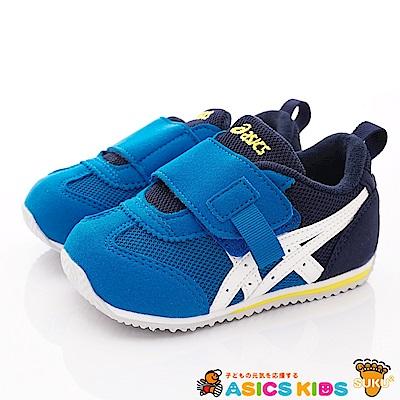 亞瑟士SUKU2機能鞋 經典護足款 BON71-400藍(小童段)