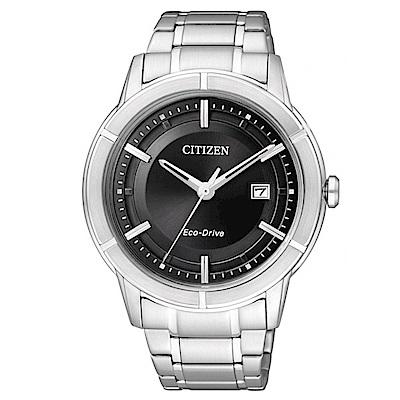 CITIZEN星辰  世紀都會時尚腕錶(AW1080-51E)-黑色/40mm