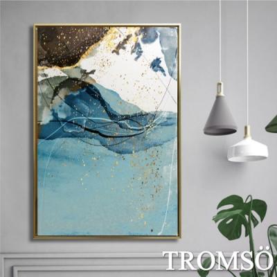TROMSO北歐時代風尚有框畫-金燦波藍WA141