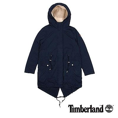 Timberland 女款暗藍色Mt Mansfield 3合1連帽外套