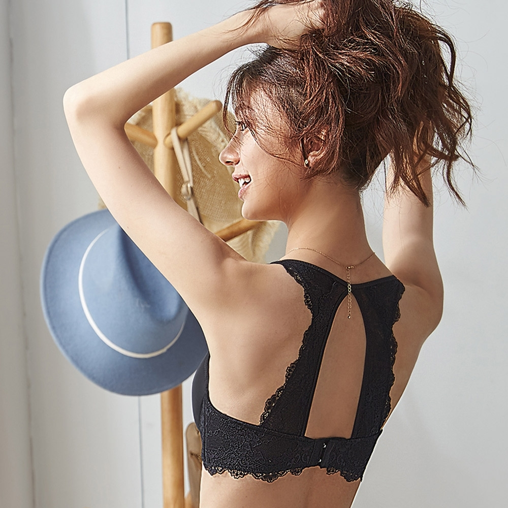 蕾黛絲-背看好 B-C罩杯美背內衣 黑