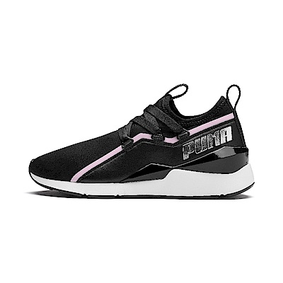 PUMA-Muse 2 TZ Wn s 女性復古休閒鞋-黑色