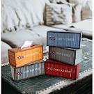 日創優品 工業風古著復古英式收納面紙盒/置物盒/衛生紙盒
