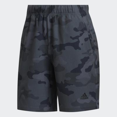 ADIDAS 休閒 運動 短褲 男款 黑 迷彩 FT2806 Camo Shorts