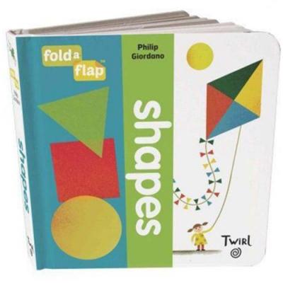 Fold-A-Flap:Shapes 形狀翻翻書硬頁本