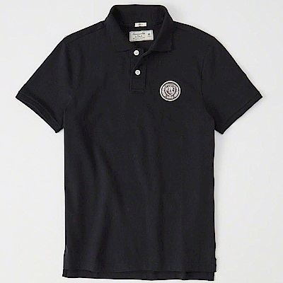 AF a&f Abercrombie & Fitch POLO 黑色 0821