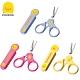 【任選】黃色小鴨《PiyoPiyo》嬰幼兒指甲剪刀-1入(黃/藍/桃紅) product thumbnail 1