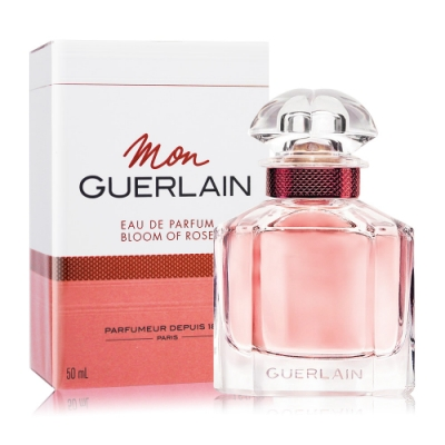 *Guerlain 嬌蘭 我的印記玫瑰淡香精 Bloom of Rose 50ml EDP-香水航空版