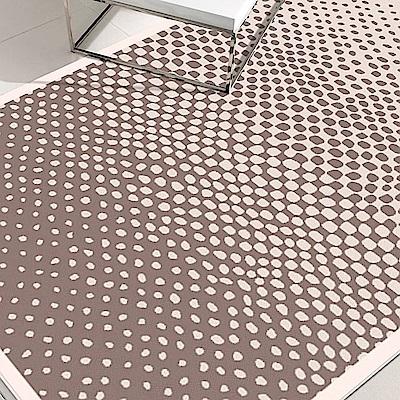 范登伯格 - 荷莉 進口地毯 - 迷疊 (棕) (大款 - 160 x 230cm)