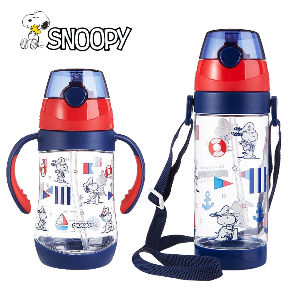 【優貝選】史努比 SNOOPY 海軍造型兒童水壺