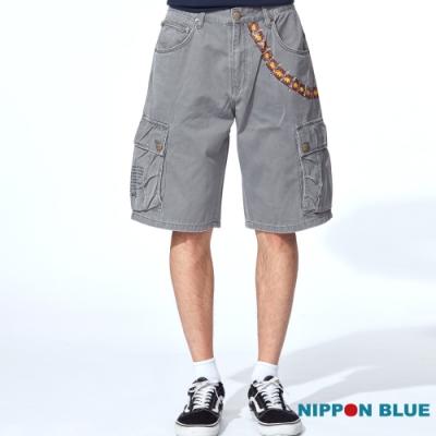 日本藍 BLUE WAY – 骷髏子彈短褲(2色)