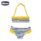 chicco-海洋假期-兩件式比基尼泳裝-條紋