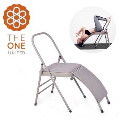 【The One】艾楊格輔助瑜珈椅(含腰托)-亞麻色