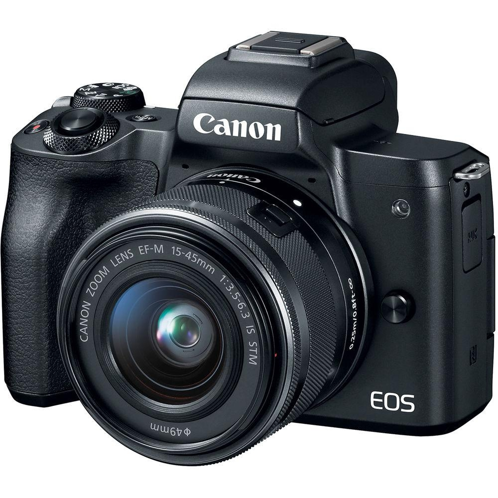 【Canon】EOS M50 15-45mm IS STM 單鏡組(公司貨)