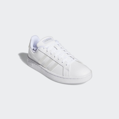 ADIDAS-GRAND COURT女休閒鞋-白-EE8172