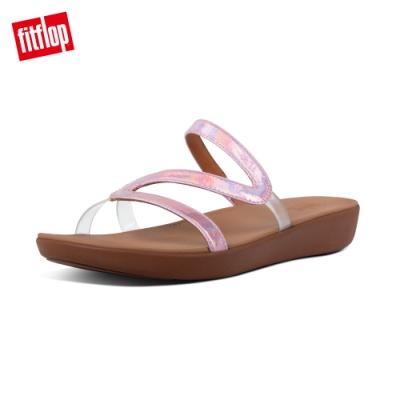 【FitFlop】PIPPA IRIDESCENT SCALE SLIDES造型涼鞋-女(柔和粉)