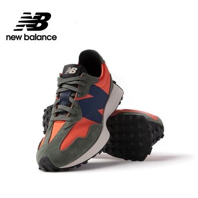 【New Balance】復古運動鞋_中性_橘綠藍_MS327TB-D楦