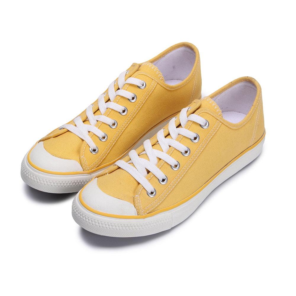 BuyGlasses 印象2004無敵帆布休閒鞋-黃
