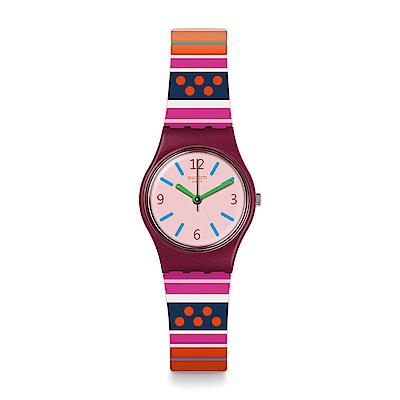 Swatch LARAKA 幾何趣味手錶