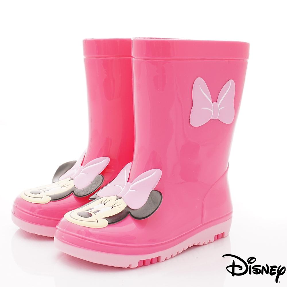迪士尼童鞋 米妮雨鞋款 ON18820桃(中小童段)