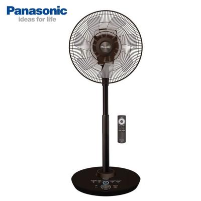 Panasonic國際牌 16吋 8段速ECO溫控微電腦遙控負離子DC直流電風扇 F-H16GND-K 奢華型