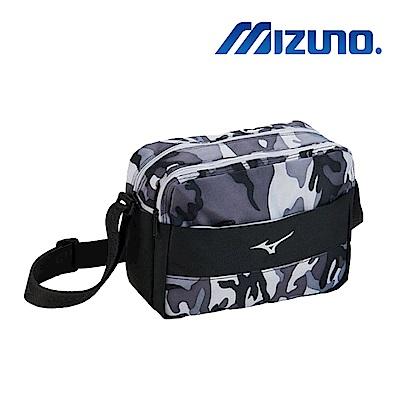 MIZUNO 美津濃 側肩袋 黑迷彩 33TS870209