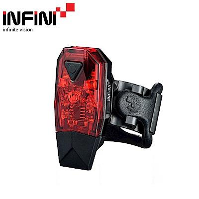 【INFINI】MINI LAVA I-261R 紅光LED警示燈4模式後燈/尾燈-台灣製