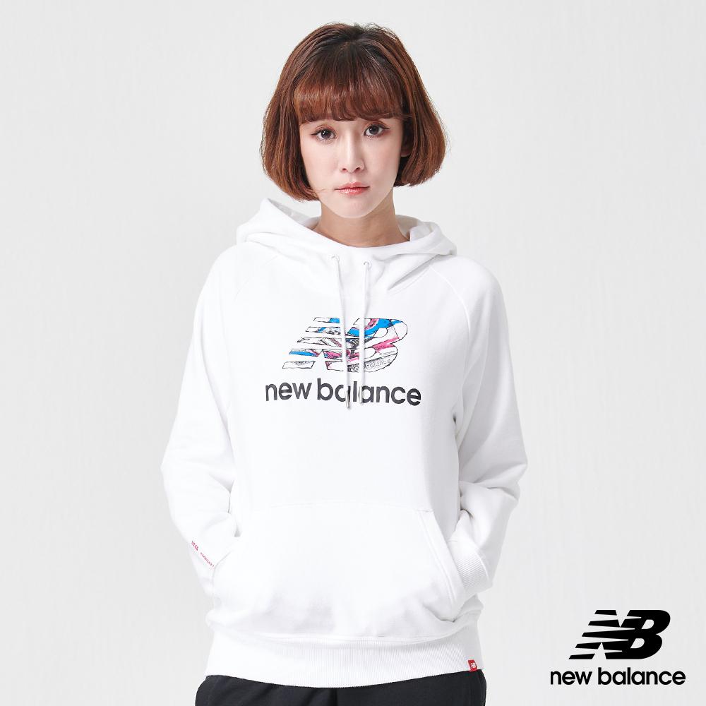 New Balance 長袖上衣_AWT91575WT_女性_白色