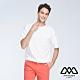 MYVEGA MAN可調節下襬剪接變化短袖T恤-白 product thumbnail 1