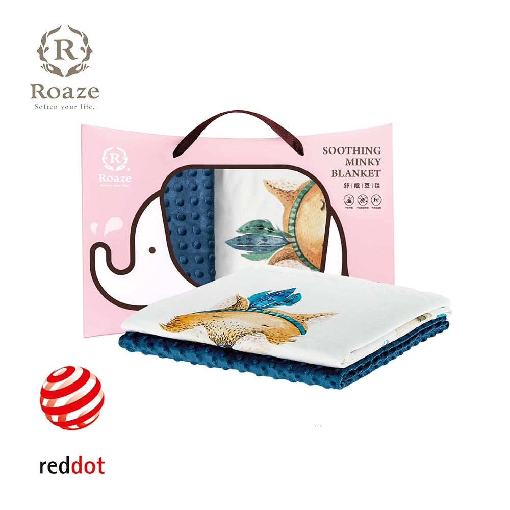 【Roaze 柔仕】 舒眠豆毯 (薄款)  - 神秘赤狐