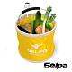 韓國SELPA 收納大容量可摺疊多用途水桶 黃色 product thumbnail 1
