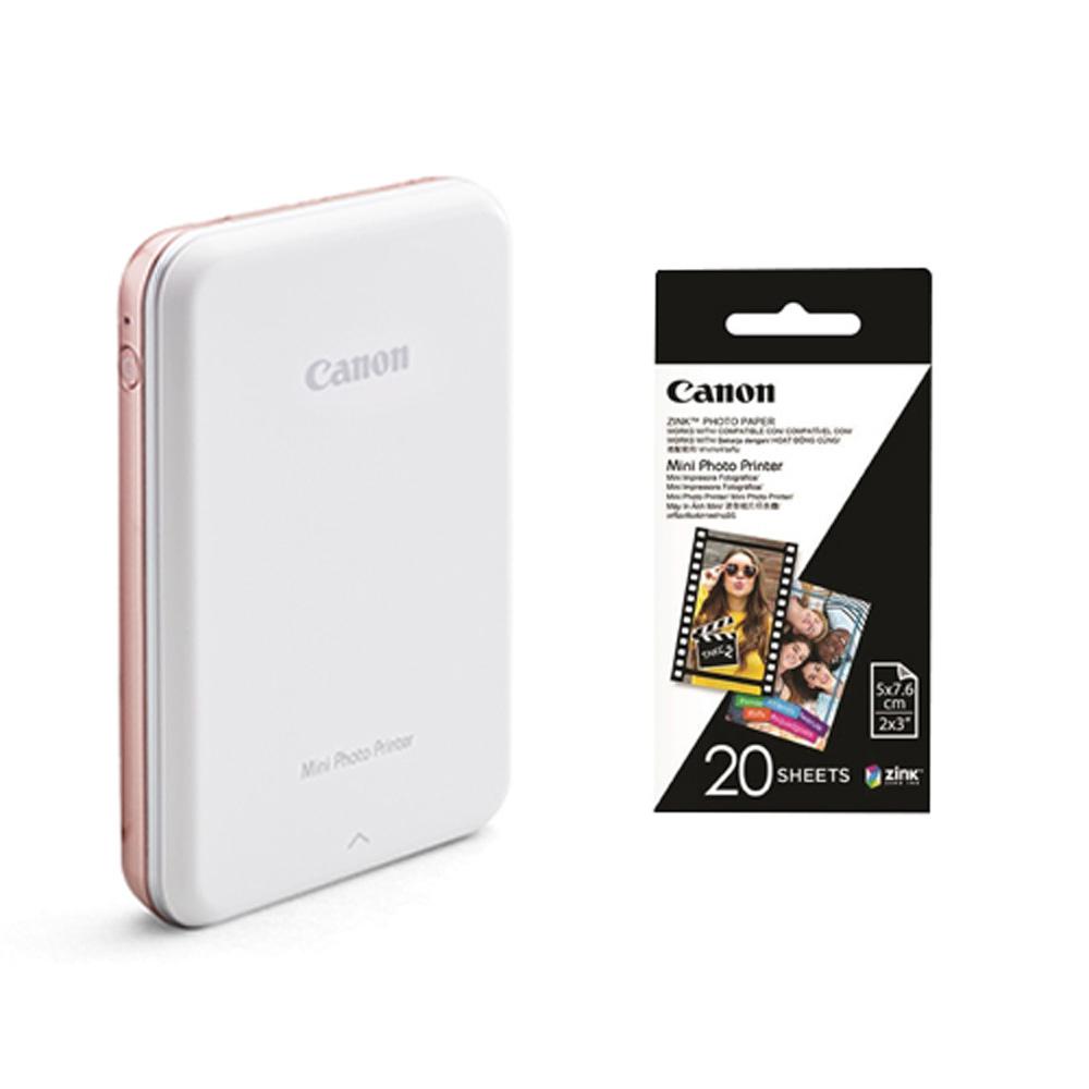 Canon PV-123 迷你相片印表機 (公司貨) 贈20張相片貼紙