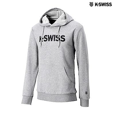 K-Swiss K-Swiss Hoodie連帽上衣-女-灰