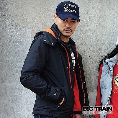 BIG TRAIN 防風防潑水外套-男-黑色