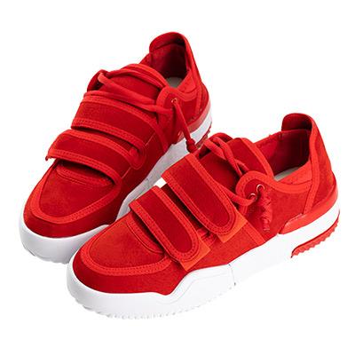 Robinlo & Co.街頭女孩造型黏帶休閒鞋 紅色