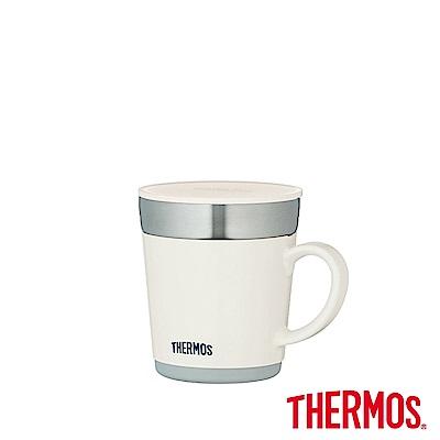 THERMOS膳魔師 不鏽鋼真空保溫杯0.35L(JDC-351-WH)