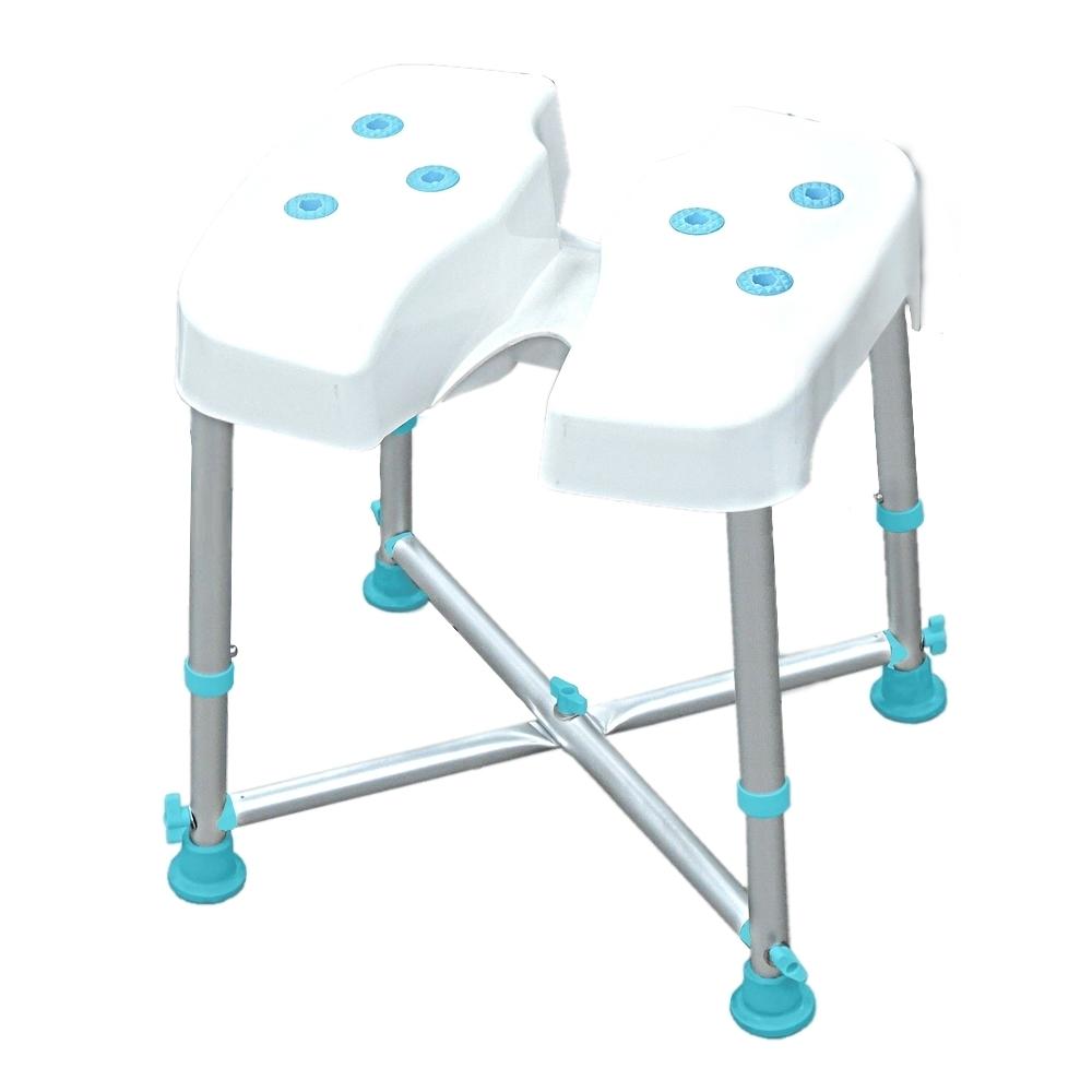 COLOR 荷重型鋁合金洗臀洗澡椅(免工具組裝)