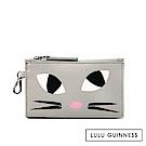 LULU GUINNESS KOOKY CAT 零錢包 (灰)