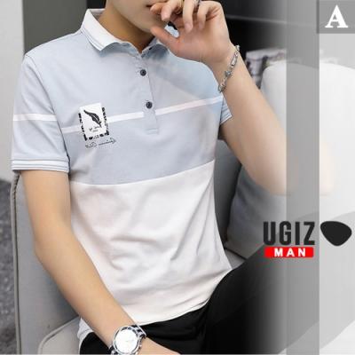 [時時樂]UGIZ-型男修身POLO上衣-5款任選(M-3XL)