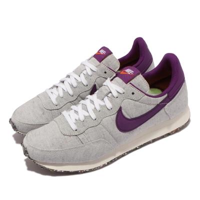 Nike 休閒鞋 Challenger OG 運動 男鞋 海外限定 復古帆布 舒適 球鞋穿搭 灰 紫 DD1108-100