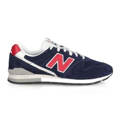 NEWBALANCE 男復古慢跑鞋-996系列 麂皮 NB N字鞋 復古 CM996PSN 丈青紅銀
