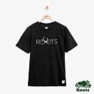 ROOTS男裝 布羅蒙短袖T恤-黑