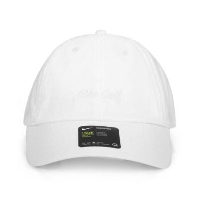 NIKE 運動帽  GOLF 白