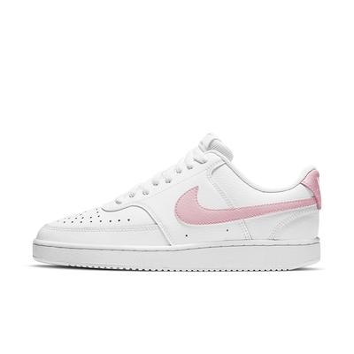 NIKE_女_休閒鞋_WMNS NIKE COURT VISION LOW_CD5434110_小白鞋