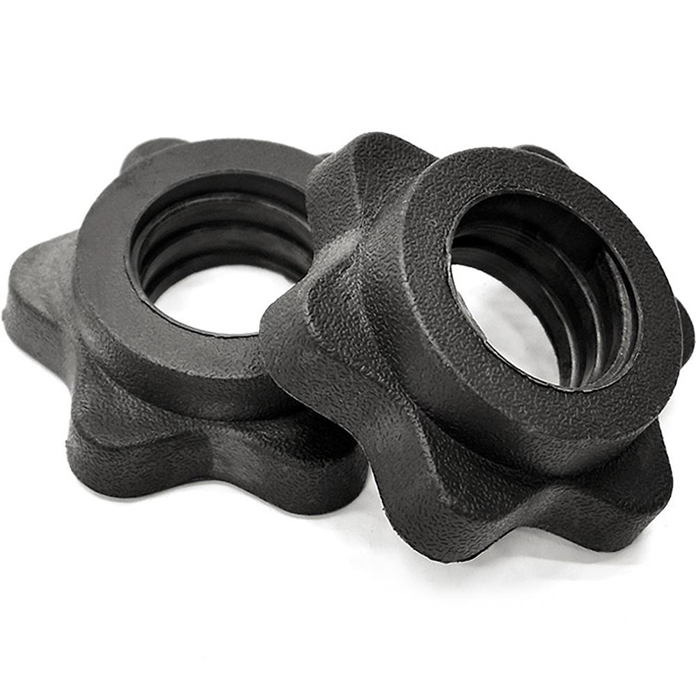 六角梅花鎖頭(2入) 適用25MM長短槓心 固定鎖固定環