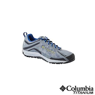 Columbia 哥倫比亞 男款-鈦OD防水健走鞋-灰色UBM45910GY