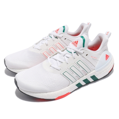 adidas 慢跑鞋 Equipment 運動 男鞋 愛迪達 輕量 透氣 舒適 避震 球鞋 白 綠 H02751